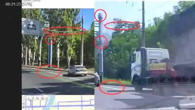 Разбор видео с доказательствами перевозки БУК-М1 из России в Украину