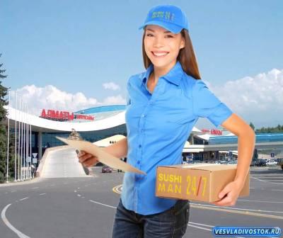 Где можно заказать доставку суши в Алматы