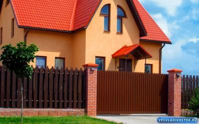 Откатные ворота в Краснодаре