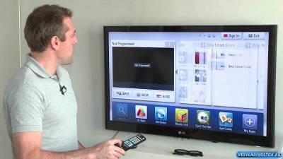 «Умное» использование LG CINEMA 3D Smart TV