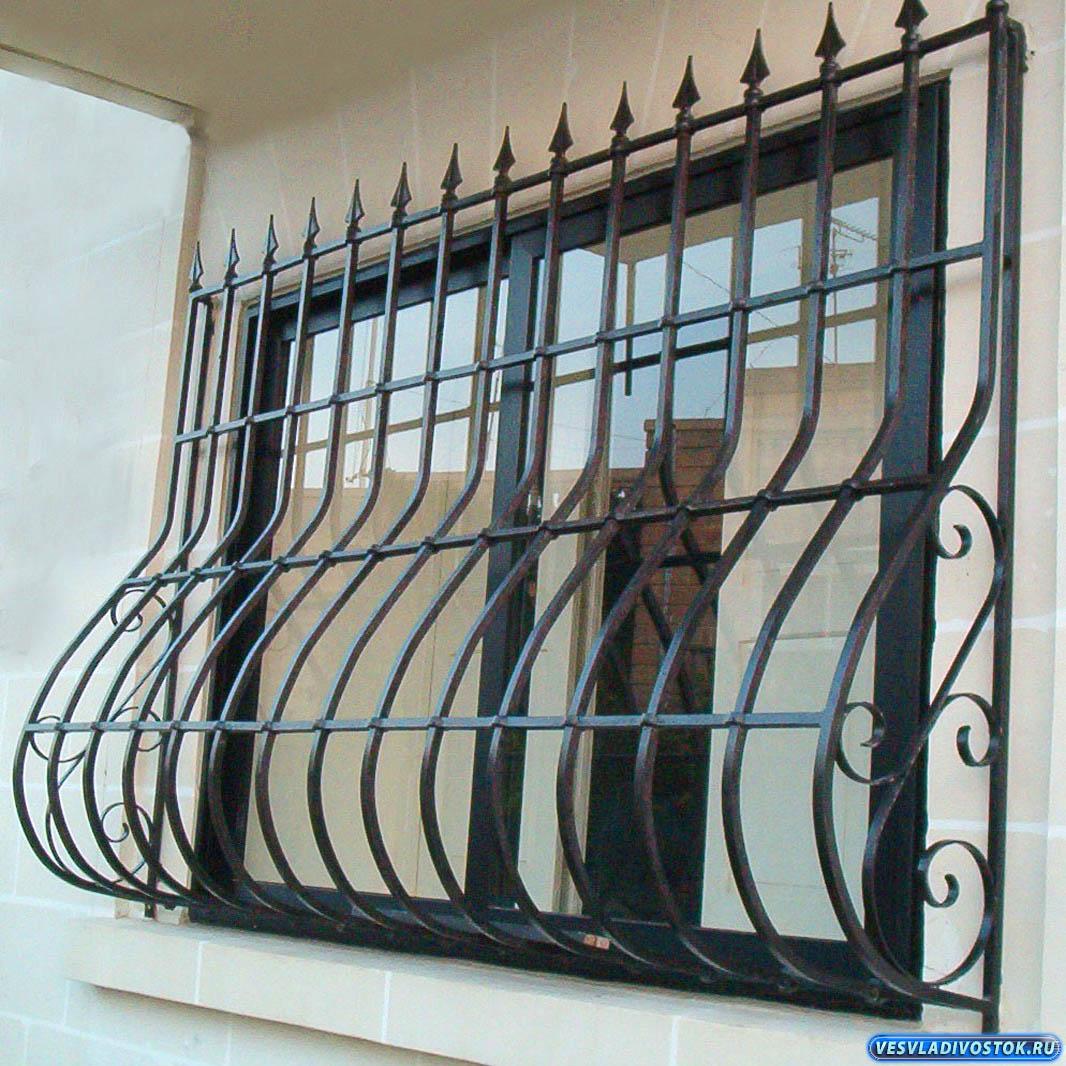окна металлические решетки