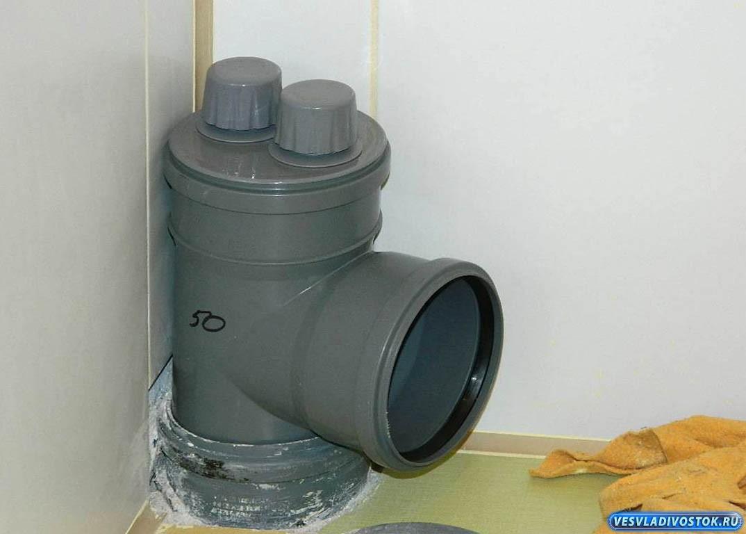 Установка обратного клапана на канализацию в квартире своими руками 45