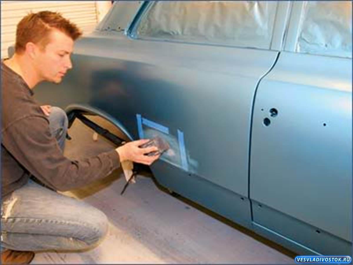 Как покрасить автомобиль своими руками пошаговое