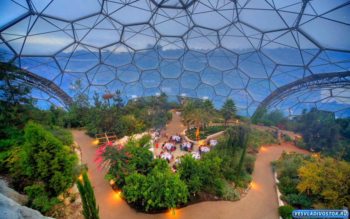 Фото 2: Парк Эдем (The Eden Project) Англия