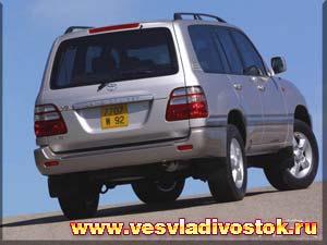 Toyota Land Cruiser 100 4. 7 V8 32v