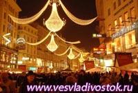 Концерты, танцы и салюты в Новогоднюю ночь в Вене
