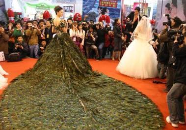 В Китае стартовала свадебная выставка
