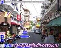 Google Street View пополнился Тайскими городами