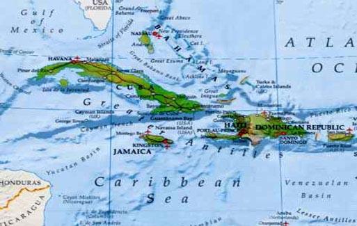 Развитие туризма на Карибах