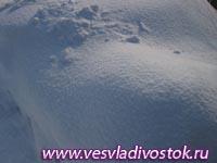В плену снежной ямы