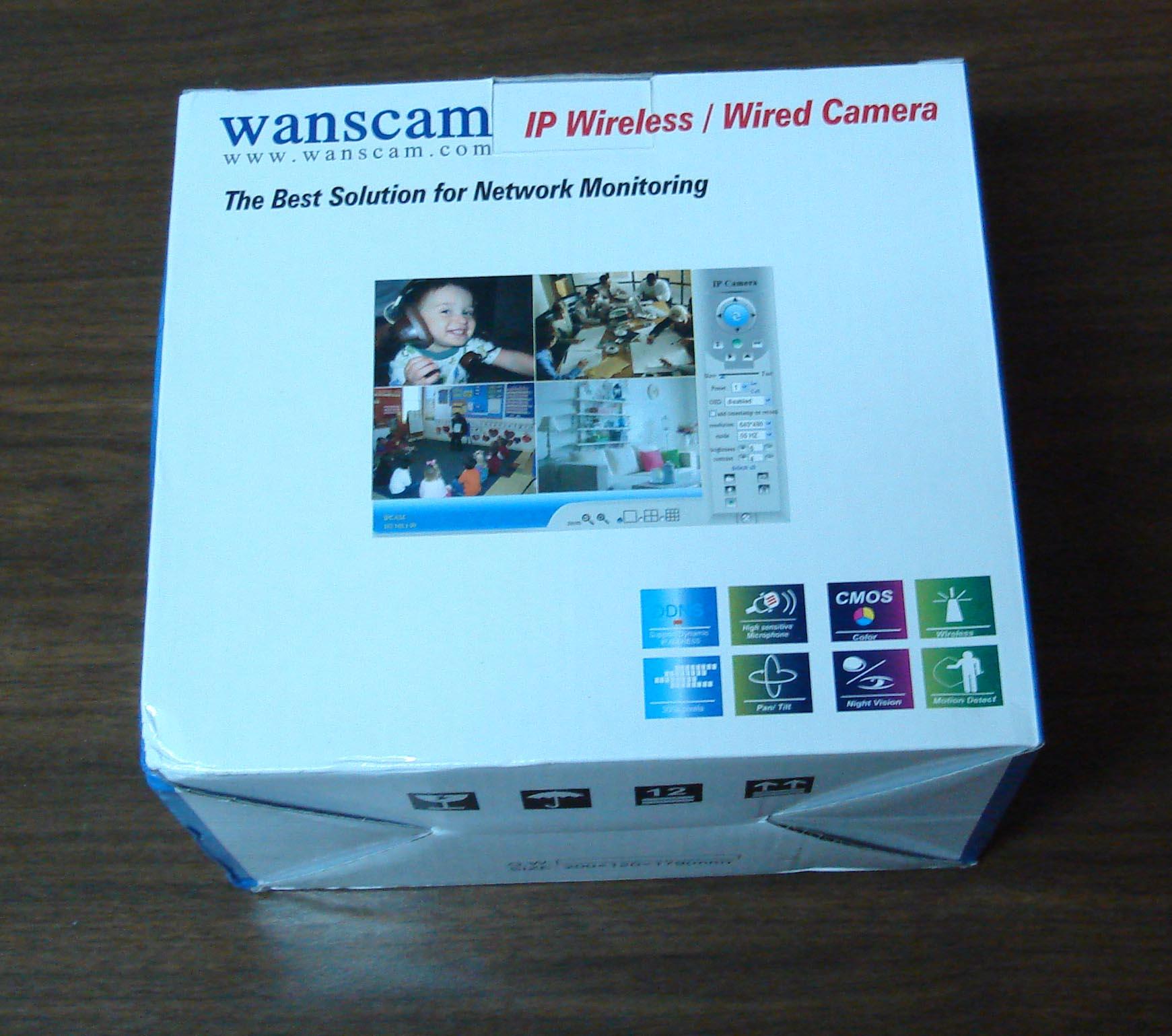 Управляемая IP камера с функцией ночного виденья