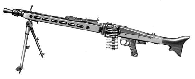Единый пулемёт MG3