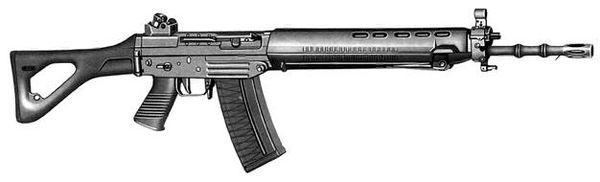 Штурмовые винтовки «ЗИГ-Манурин» серии 540