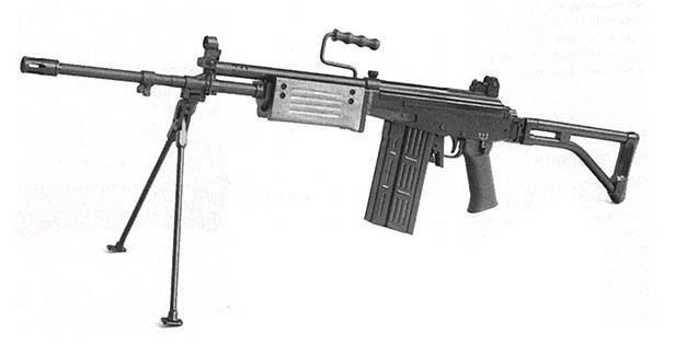 Ручной пулемёт ARM «Галил»