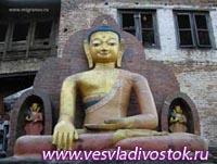 Преображение бомжатника в храм Будды