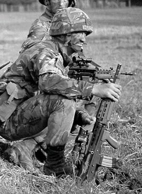 Штурмовая винтовка «Энфилд» L85A1