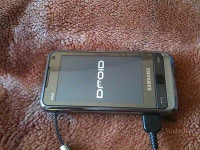 Как установить программы в Samsung i900 WiTu
