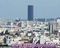 Площадка башни Монпарнас открыта для посетителей