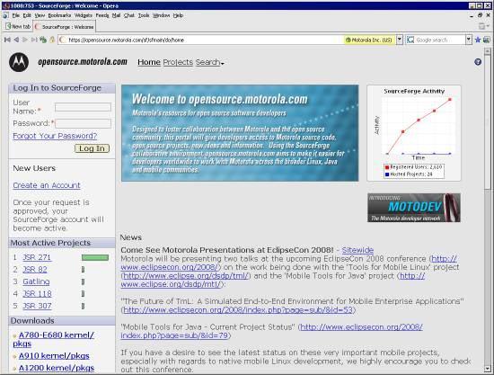 Какой официальный сайт Motorola