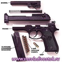 Пистолет - «Беретта» 92F «Компакт»