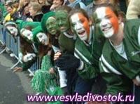 В честь праздника Дня святого Патрика польские достопримечательности окрасят в зеленый цвет