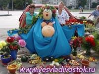 Садовая ярмарка в финском городе Лахти