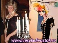 Выставка платьев Принцессы Дианы в Лондоне
