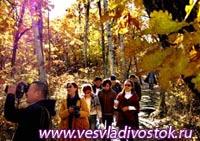 Золотая осень Чанбайшаня