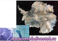 Загадка озера в Антарктиде