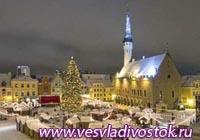 Рождественские ярмарки в Эстонии