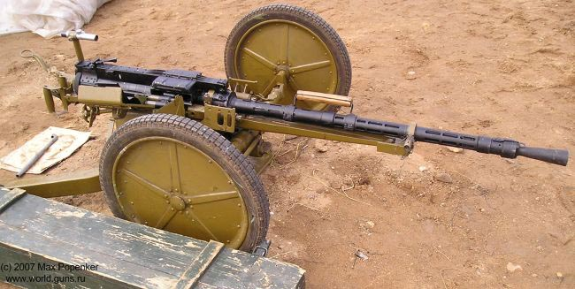 Крупнокалиберный пулемёт НСВ