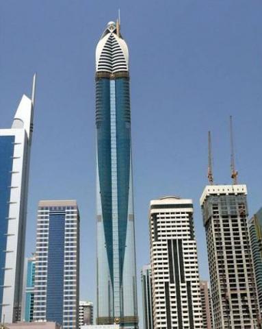 Самая высокая гостиница в мире откроется в Дубае