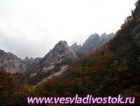 Алмазные горы Кореи