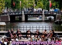 В Амстердаме проходит музыкальный фестиваль «на воде»