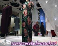 Выставка платьев ципао в Китае