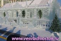Ледяной театр открылся в Москве
