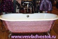 Ванна из драгоценных камней продана в Дубае