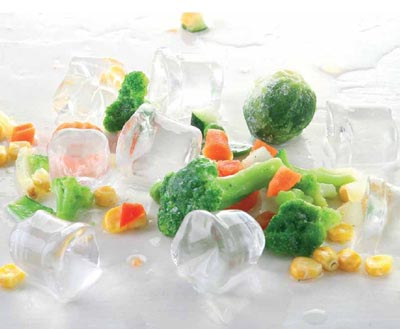 Замороженные фрукты, овощи и грибы
