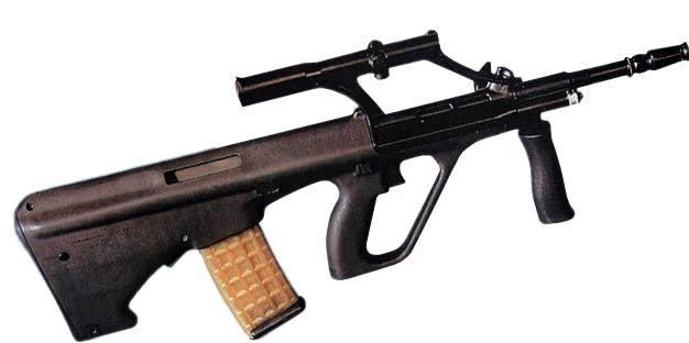Штурмовая винтовка StG-77 «Штейр» (система AUG)