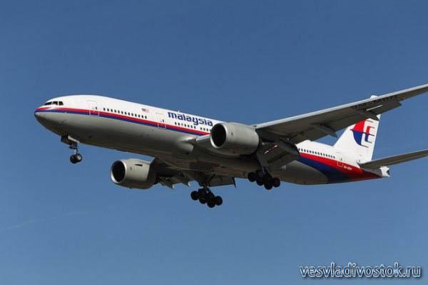Боинг-777 Малазийских Авиалиний