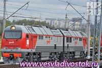 Поезд Абакан-Иркутск запускает РЖД в мае