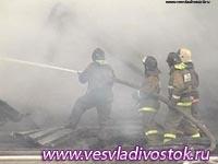 В Черногорске (Хакасия) сгорел кирпичный завод