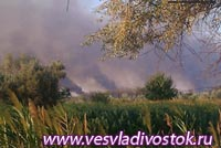 На минувшей неделе в нашем районе произошло одно серьезное возгорание.