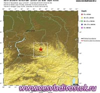 СРОЧНО Магнитуда землетрясения в Туве составила 6,5 - геофизическая служба РАН